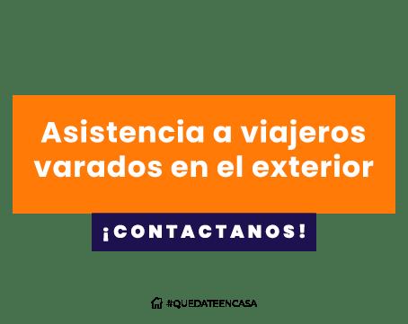 Asistencia para argentinos varados en el exterior
