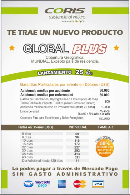 coris global plus