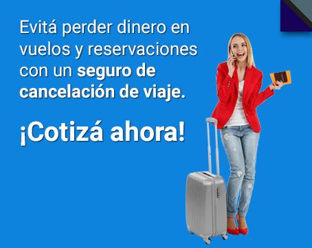 seguro de cancelacion de viaje
