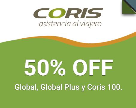 Coris Assistance 50% OFF