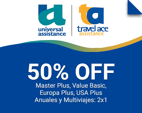 Travel Ace 50% OFF