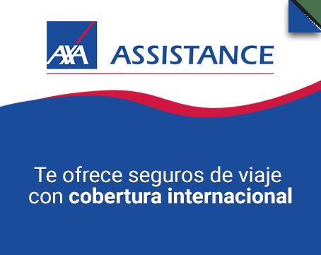 Seguro de viaje internacional Axa Assistance