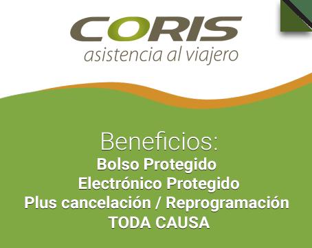 Coris Assistance beneficios