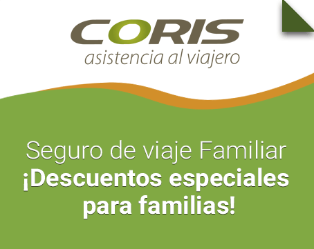 seguro de viaje familiar coris assistance