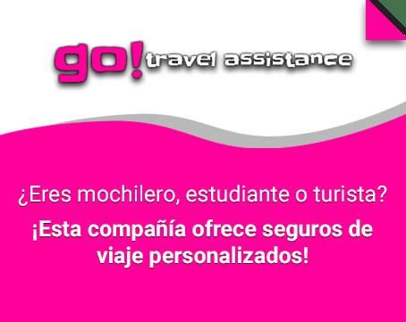 Seguros de viaje personalizados Go Travel Assistance