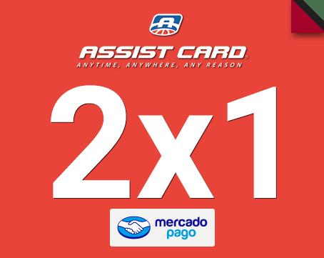 2x1 en tu seguro de viaje Assist Card con Mercado Pago