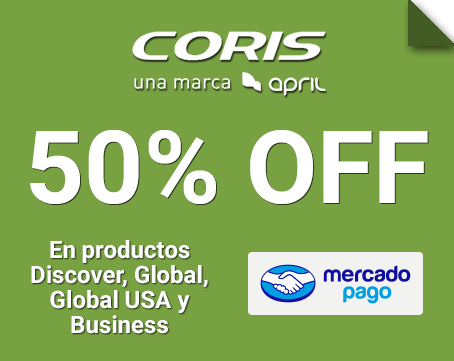 50% OFF en los planes Discover, Global, USA y Business