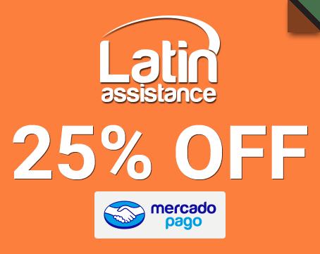 Tu seguro de viaje de Latin Assistance 20% OFF