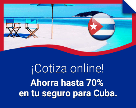 Seguro de viaje para Cuba
