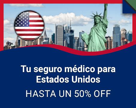 Seguro medico para Estados Unidos