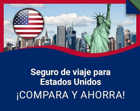 Seguro de viaje para Estados Unidos