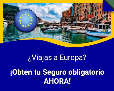 Seguro obligatorio para Europa