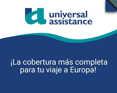 Seguro de viaje a Europa Universal Assistance