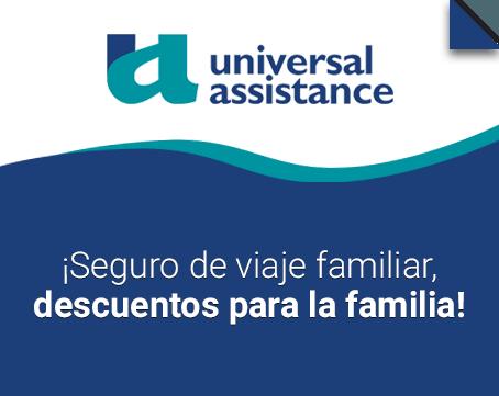 Seguro de viaje familiar Universal Assistance